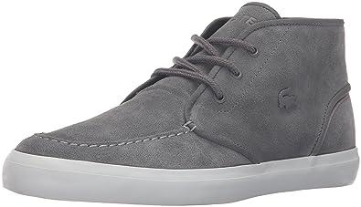 be2faa99ea3a9e Lacoste Men s Sevrin Mid 316 1 Cam Fashion Sneaker Grey 11 M US