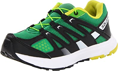 Salomon XR Mission J - zapatillas de running niño, color verde, talla 33: Amazon.es: Zapatos y complementos