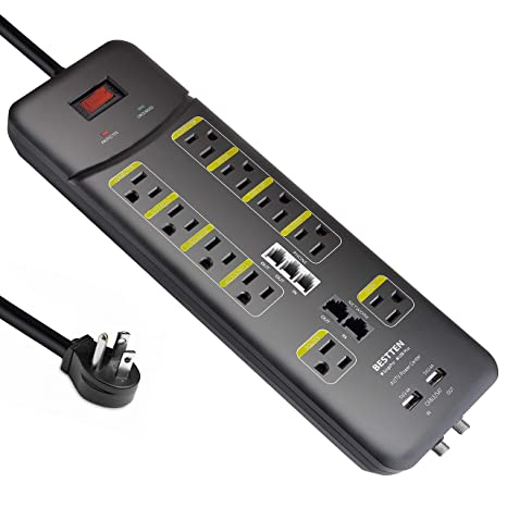 Ethernet Controlled Power Strip