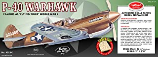 product image for Guillow's P-40 Warhawk Laser Cut Model Kit