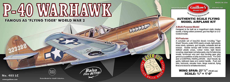 Maquette en bois - P-40 Warhawk