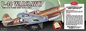 Guillow's P-40 Warhawk Laser Cut Model Kit