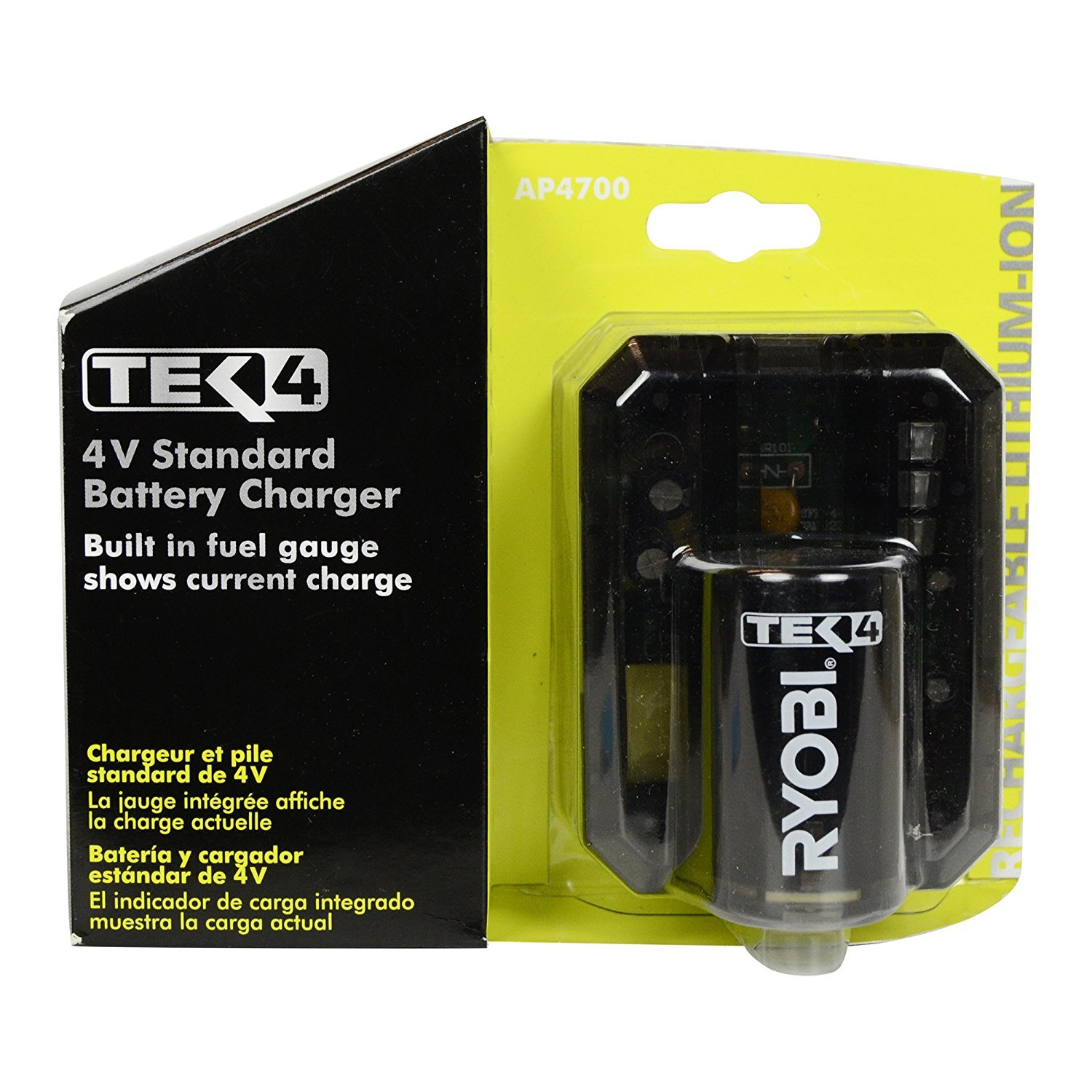 Amazon.com: Ryobi Tek4 4V Lithium-Ion Battery: Health & Personal Care