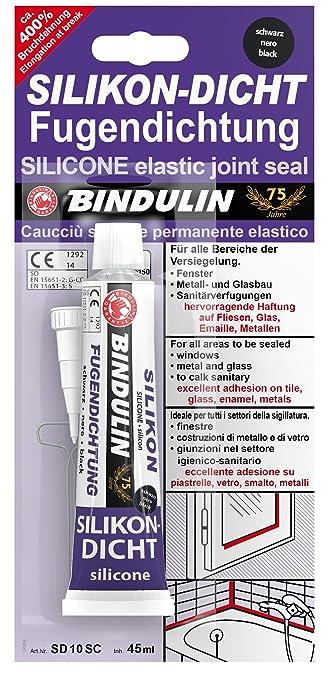 Silikon-Dicht Fugendichtung schwarz 50 ml