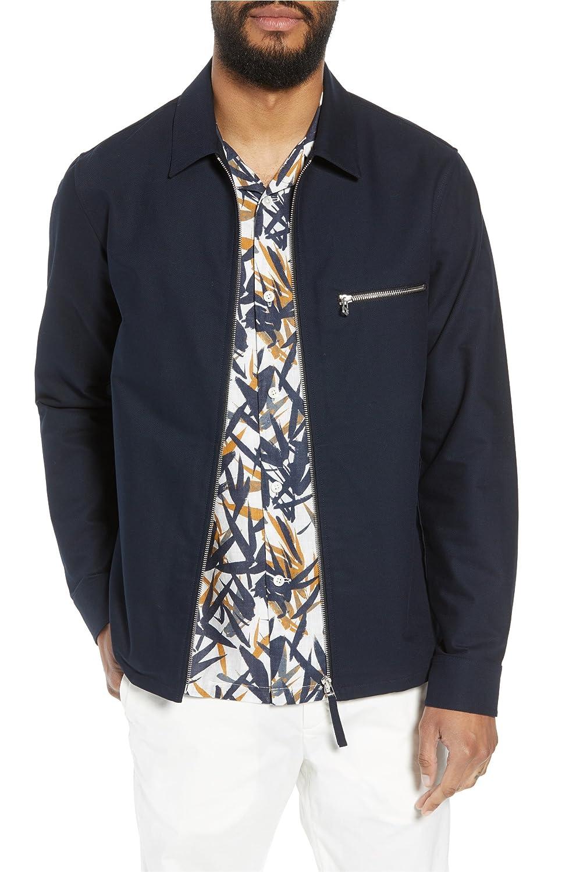 [セオリー] メンズ ジャケットブルゾン Theory Rye Stretch Cotton Jacket [並行輸入品] B07D2CVW7K Small
