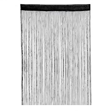 Amazon De Cadillaps Fadenvorhang Fadengardine 100 200cm Dekoration
