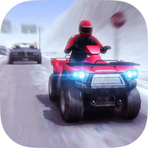 ATV Quad Bike Frozen Highway - Nitro Charged Blast Turbo Racing: Amazon.es: Appstore para Android