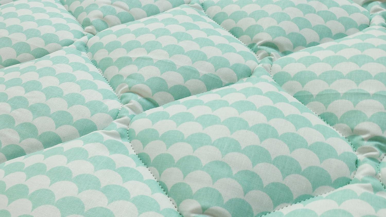 Barato Ideenreich 2380 – Manta para bebé, 120 x 120 cm), color turquesa