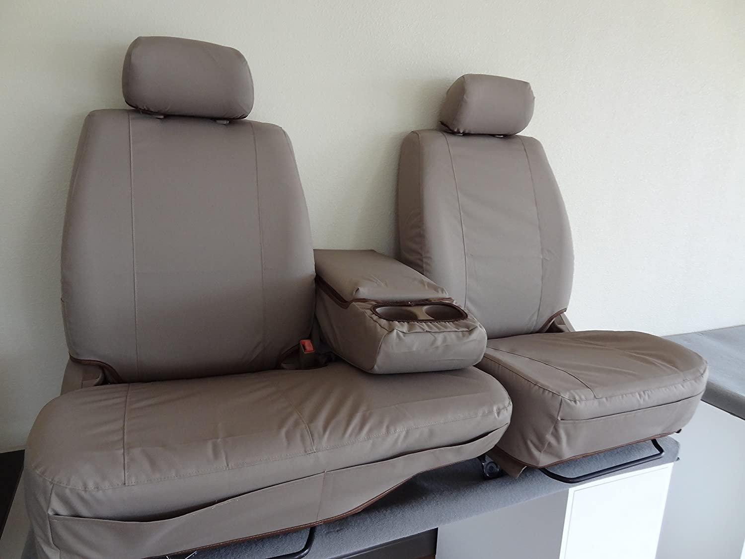 Seat Covers in Brown Automotive Twill. T787-D4 Durafit Seat Covers ...