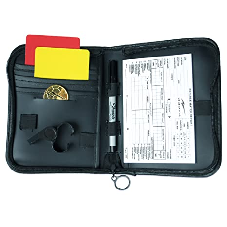 a3fba3aa7805 Amazon.com   AGORA Soccer Referee Accessory Bag Kit   Coach And Referee  Equipment   Sports   Outdoors
