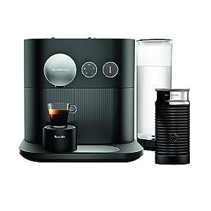 Breville-Nespresso USA BES750BLK Nespresso Expert by Breville with Aeroccino, Black Espresso & Coffee Maker