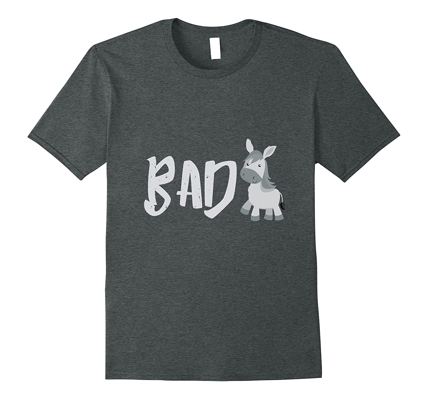 Bad Donkey Humor Pun Funny Hilarious Inappropriate T Shirt-FL