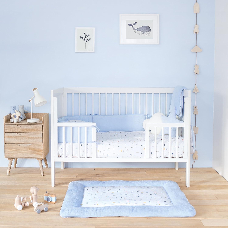 Bemini 105FANJO61JP Bettwäsche jersey FANJO 61 morning, blau ID Plus S.A. / Baby Boum
