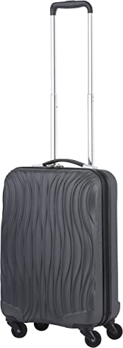 Cabin size 20 luggage carryon luggage black with USB factory directly sell