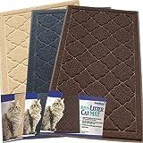 Katzenstreu-Matte - XL Extragroß - Beste extragroße Streumatte für Katzen, die Streu aus ihrer Box tragen - Fühlt sich weich an - Elegant für Ihr Zuhause