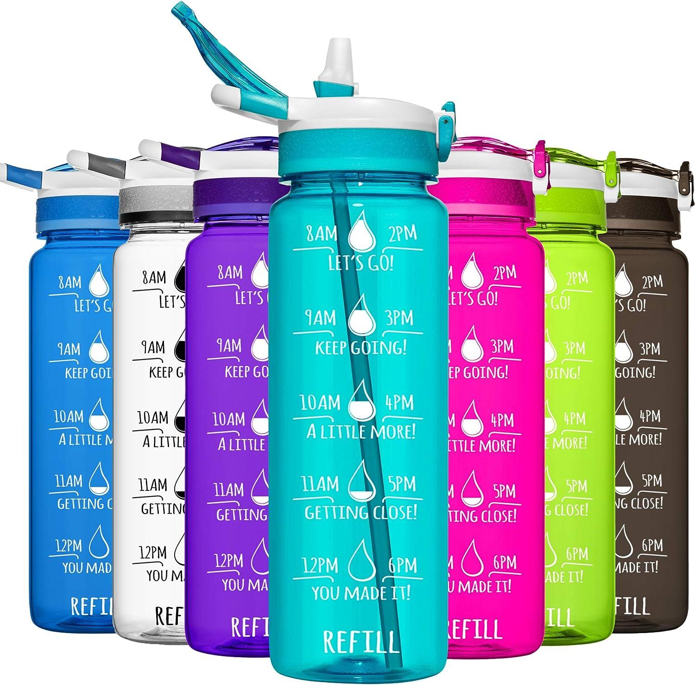 32oz All Around 1 Liter Plastic Water Bottle