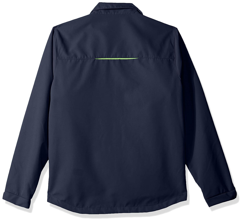 Navy G-III Mens Energy Soft Shell Full Zip Jacket Large