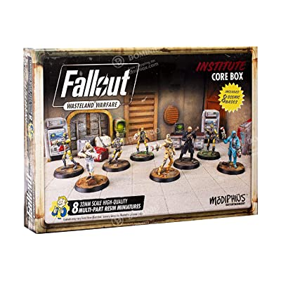 Modiphius Fallout: Wasteland Warfare - Institute Core Box: Toys & Games
