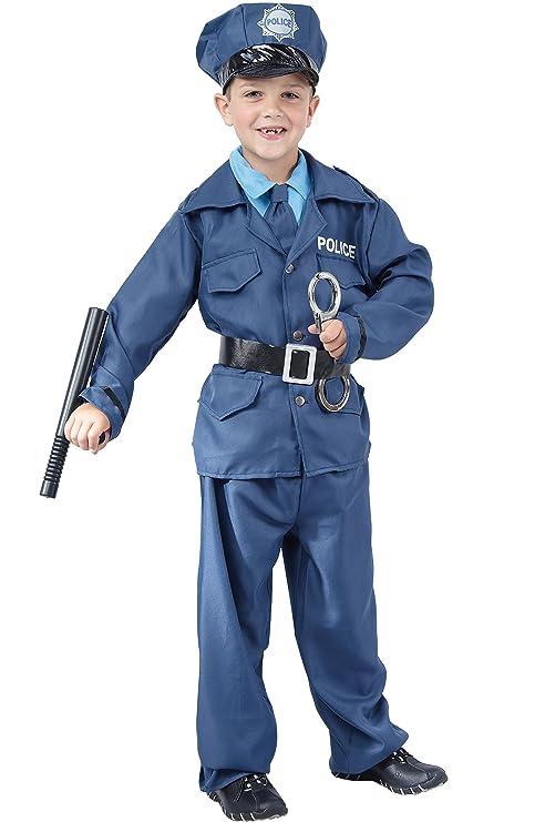 Disfraz de policía para niño: Amazon.es: Juguetes y juegos