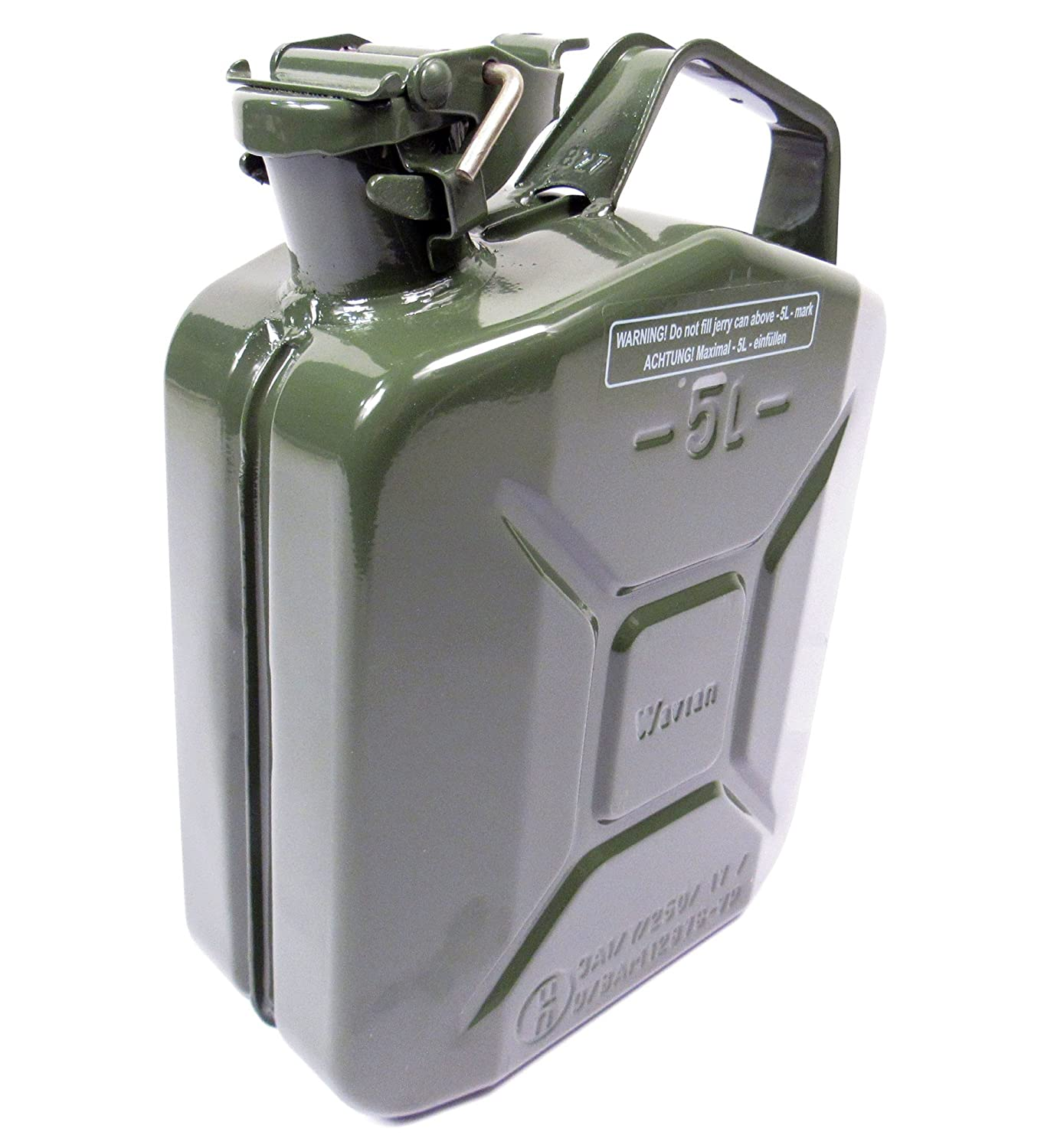 VALPRO 5 Liter (1.25 Gallon) NATO Jerry Can - Built to Military Spec