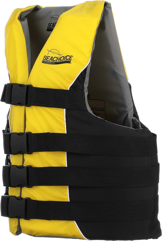 U.S. Coast Guard Approved Exxel Polyester Universal Adult Life Vest XXL//XXXL