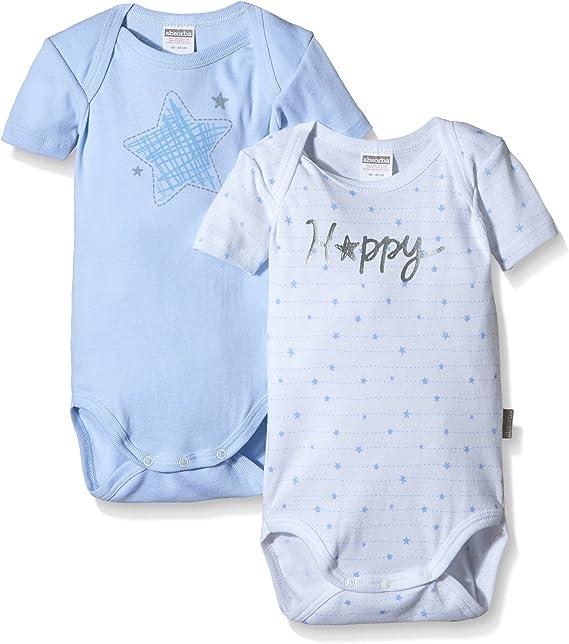 Absorba Happy Body (Pack de 2) para Bebés: Amazon.es: Ropa y ...