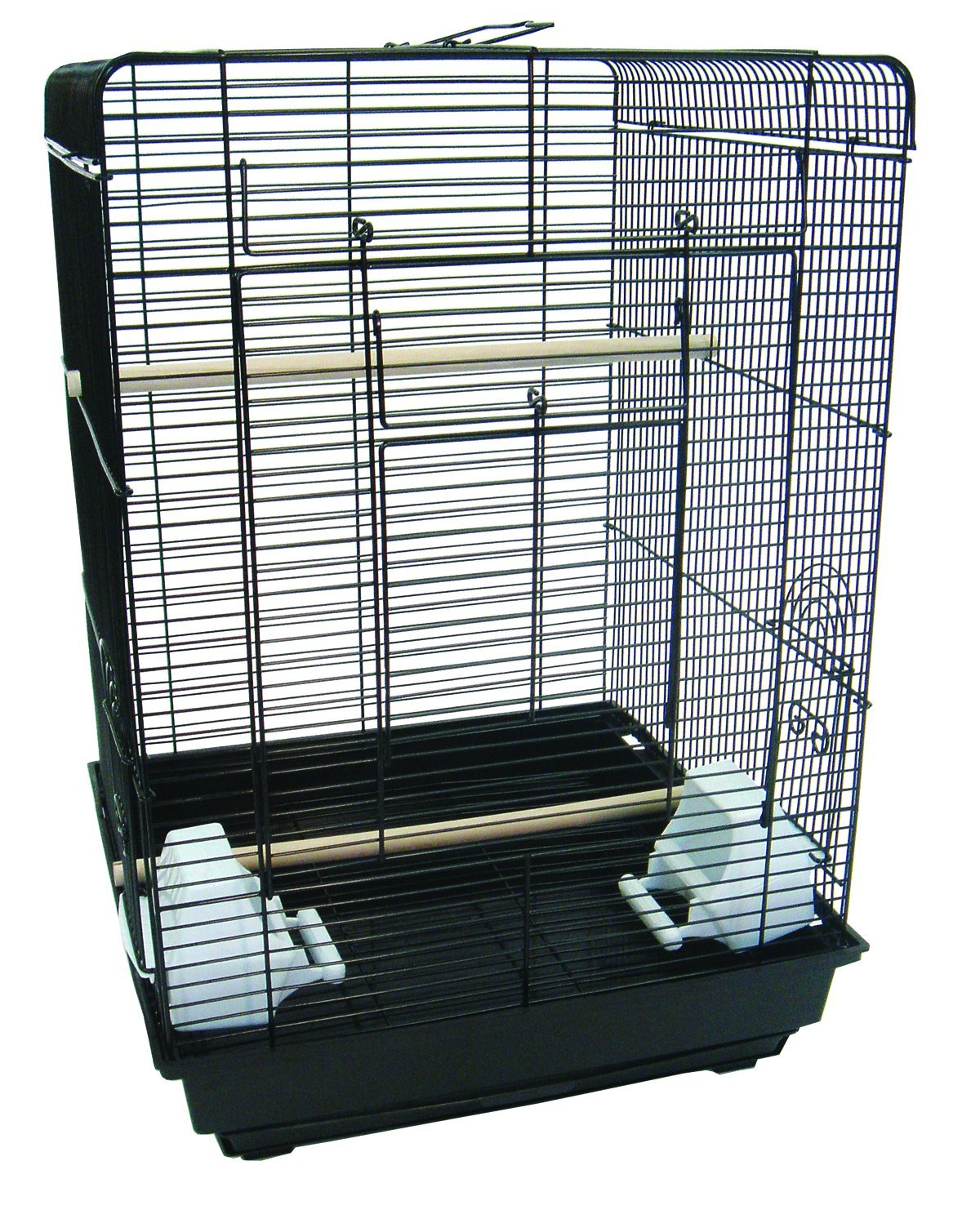 YML A1624 Flat Top Cage, 16 by 16-Inch, White A1624WHT