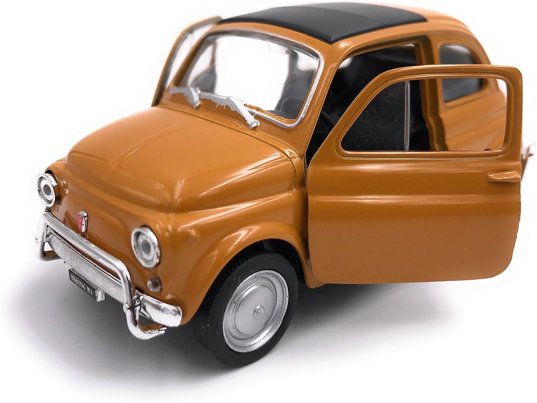H Customs Welly Fiat Nuova 500 Modellauto Auto Lizenzprodukt 1 34 Zufällige Farbauswahl Spielzeug