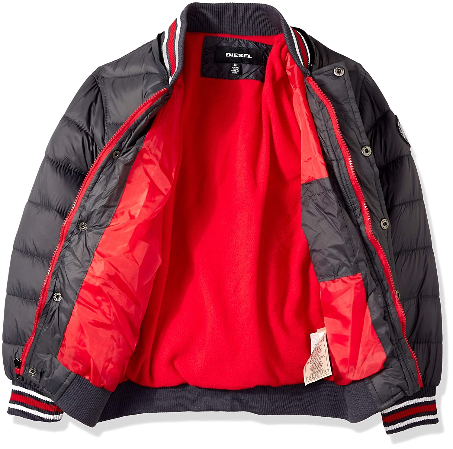 Diesel Boys Hooded Bubble Down Jacket O/_DS150H