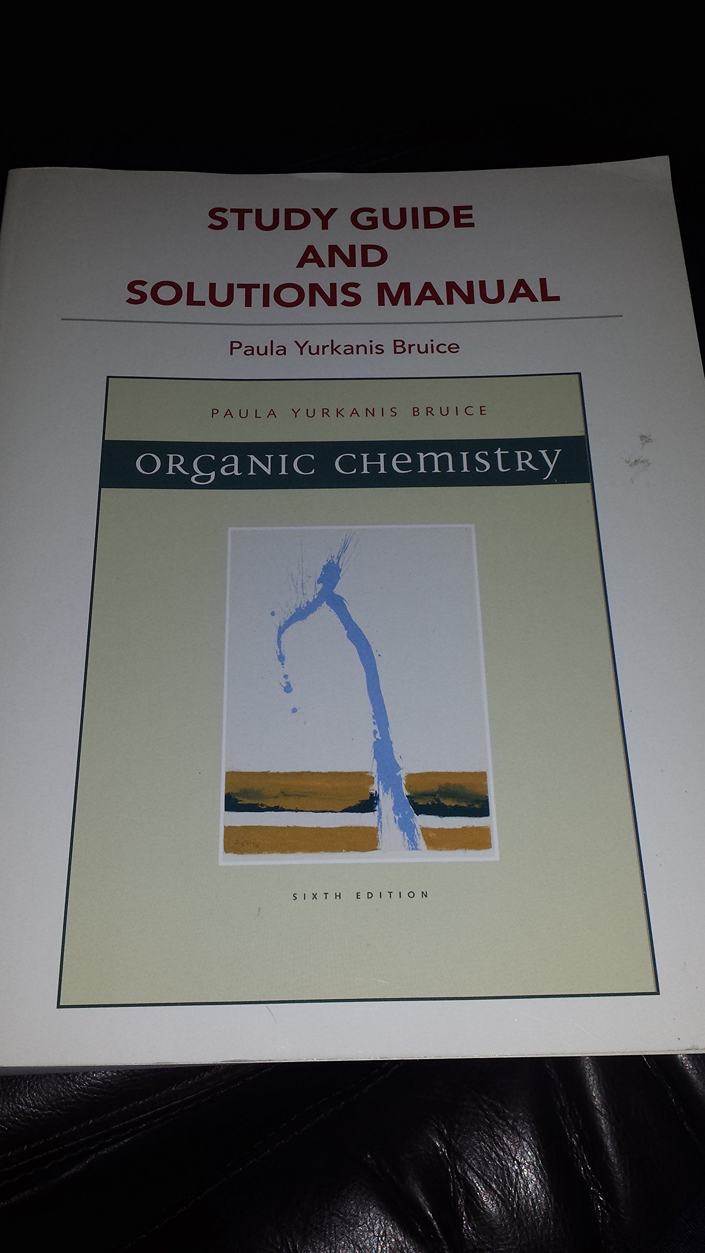 Download Study Guide and Solutions Manual for Organic Chemistry (Custom Edition for the University of North Carolina at Chapel Hill) ebook