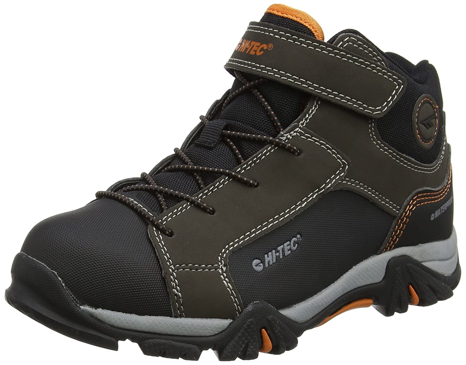 Hi-Tec Unisex-Kinder Trail OX Mid Waterproof Junior Trekking-& Wanderstiefel