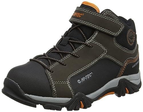 7aa390ff6bd Hi-Tec Unisex Kids' Trail Ox Mid Waterproof Junior High Rise Hiking Boots