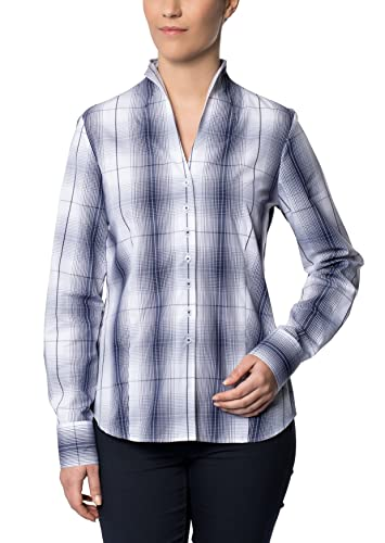 ETERNA long sleeve Blouse COMFORT FIT checked