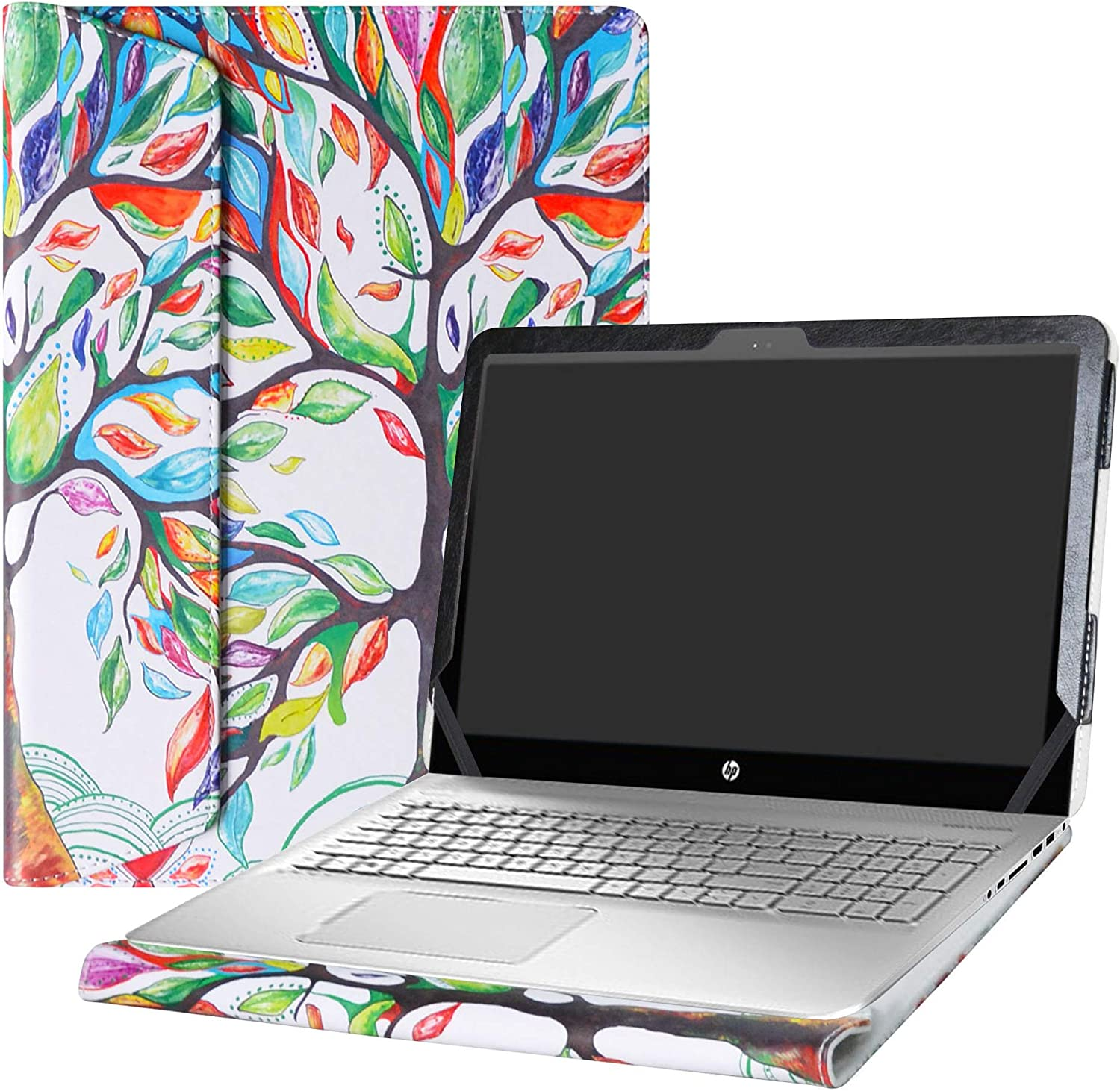 """Alapmk Protective Case Cover for 15.6"""" HP Envy 15 15-asXXX (15-as000 to 15-as999,Such as 15-as020nr 15-as120nr 15-as014wm) Laptop [Warning:Not fit Envy 15 15-aeXXX 15-ahXXX 15-kXXX Series],Love Tree"""