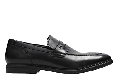 9f80a98e Clarks Men's Banbury Step Black Leather Formal Shoes-10.5 UK/India ...
