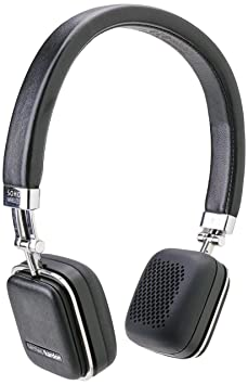 Harman Kardon SOHO Black Premium, On-Ear Headset with Bluetooth Connectivity and Touch Control On-Ear Headphones at amazon
