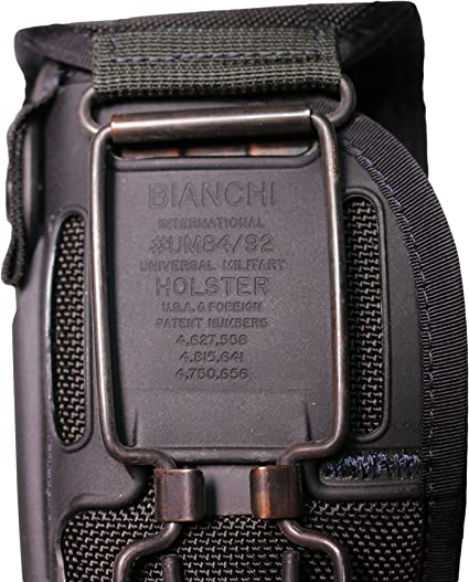 Bianchi UM84-1 Universal Military Holster Large Frame Semi-Automatic 5 Barrel Nylon