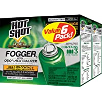Deals on 6 Count Hot Shot Fogger6 Insect Killer w/Odor Neutralizer