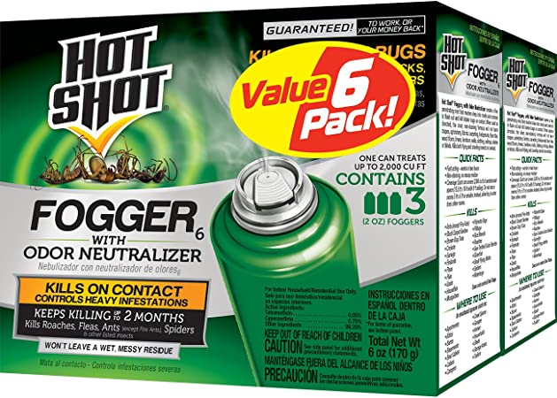 Hot Shot Fogger - Travel-Friendly