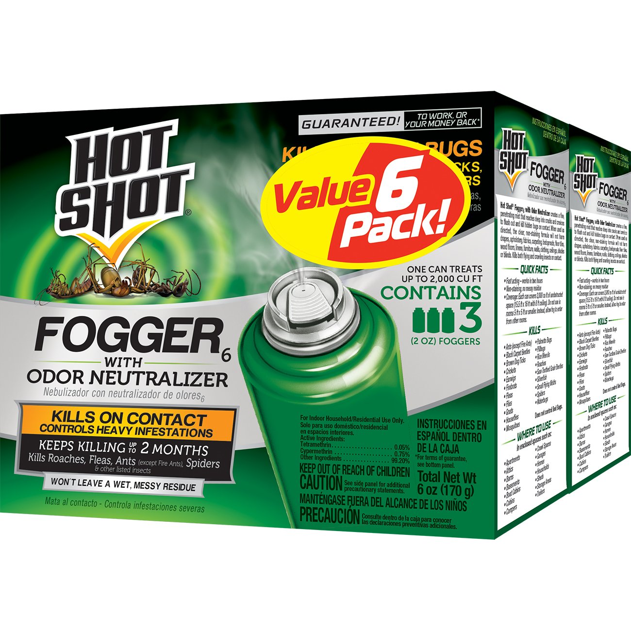 best flea fogger -  Hot Shot 96180 Indoor Fogger