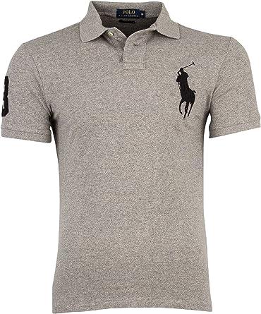 Polo Ralph Lauren - Polo - para Hombre Gris Large: Amazon.es: Ropa ...