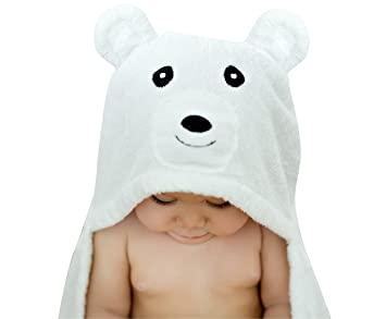 96754d68f52 Amazon.com   Bear Hooded Baby Towel For Toddler