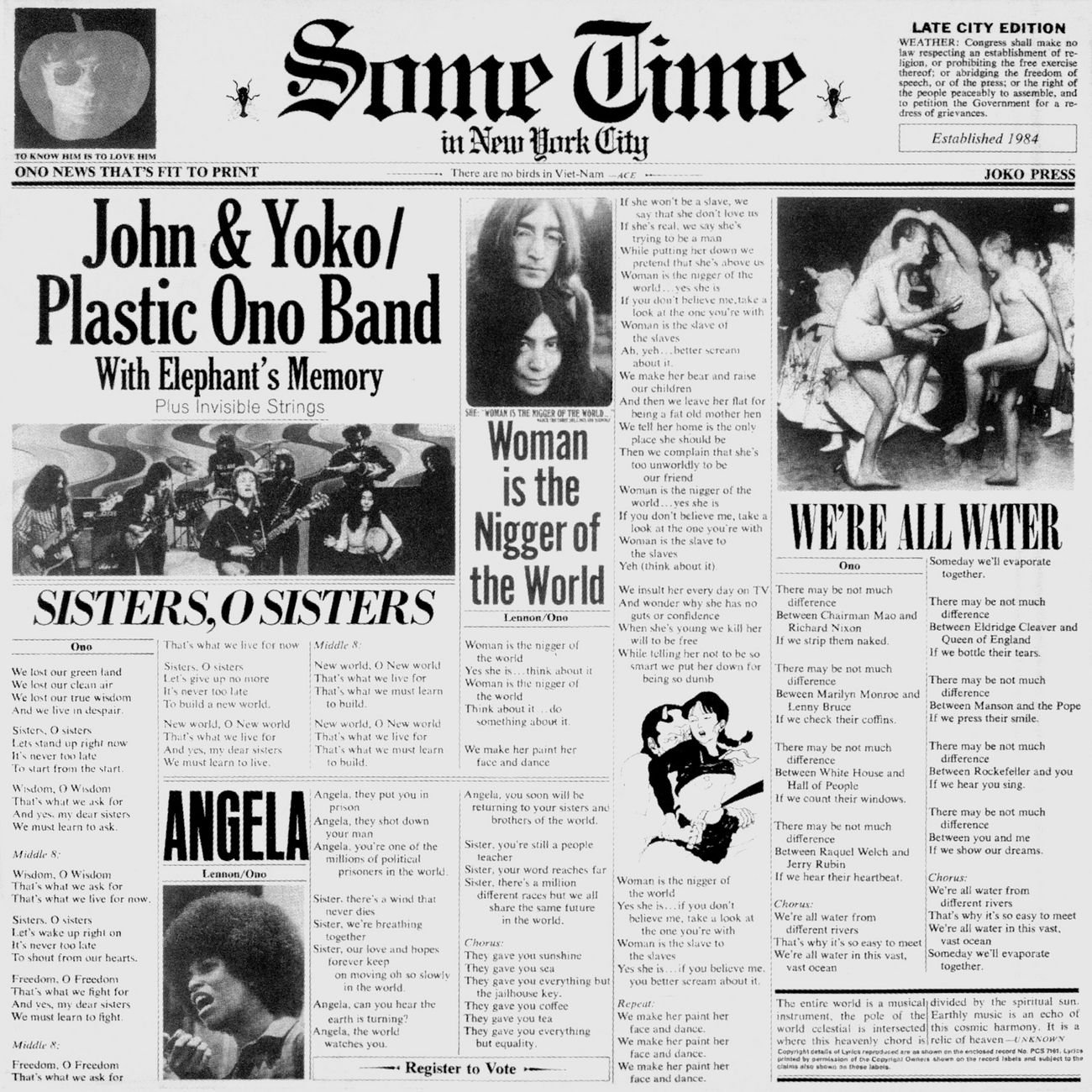 John Lennon Yoko Ono Elephant S Memory Some Time In New York City Amazon Com Music