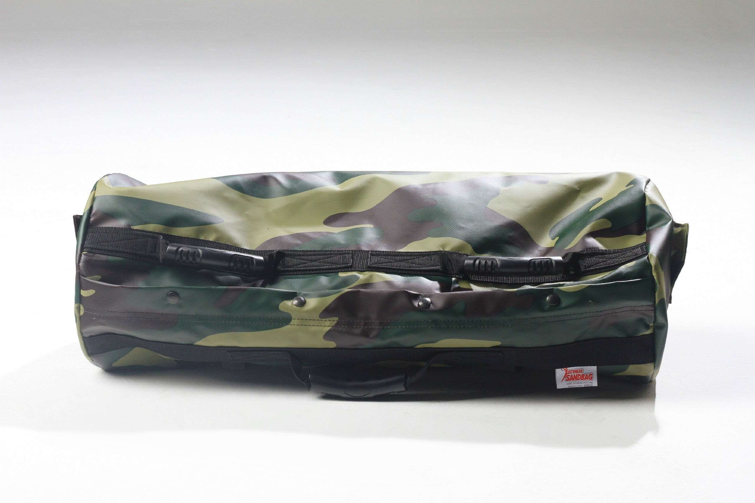 Ultimate Sandbag Training Strength Package - Camouflage Adjustable Fitness Sandbag with Filler Bags 40-80lbs by Ultimate Sandbag (Image #1)