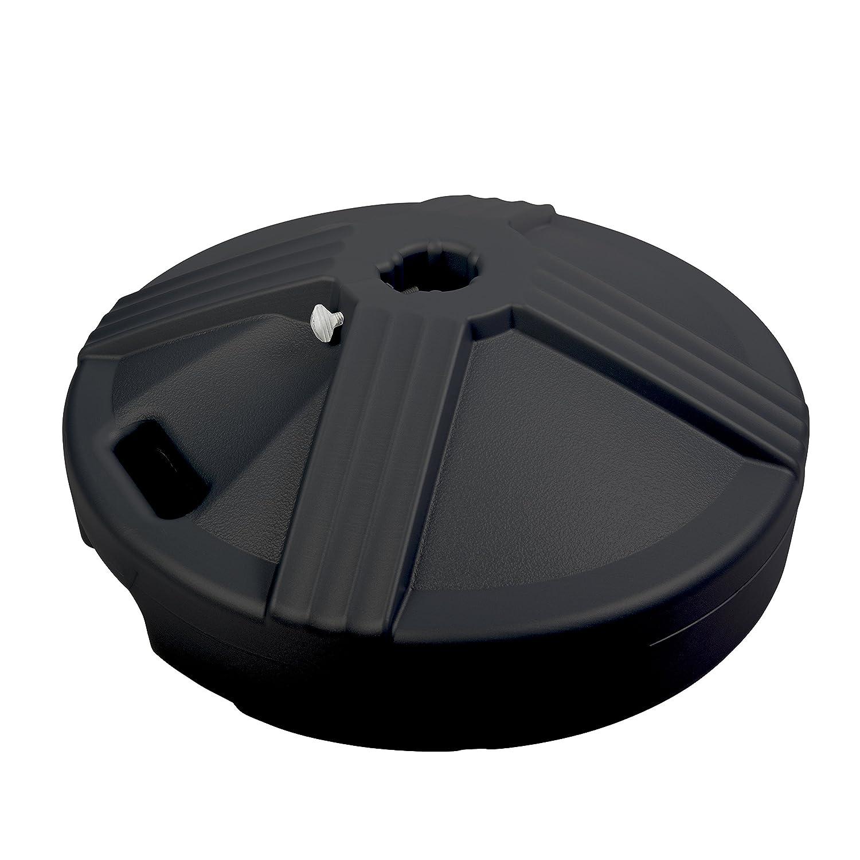 US重量50ポンドまたは入力可能な傘ベース( More Colors available ) B0041G6V5W ブラック
