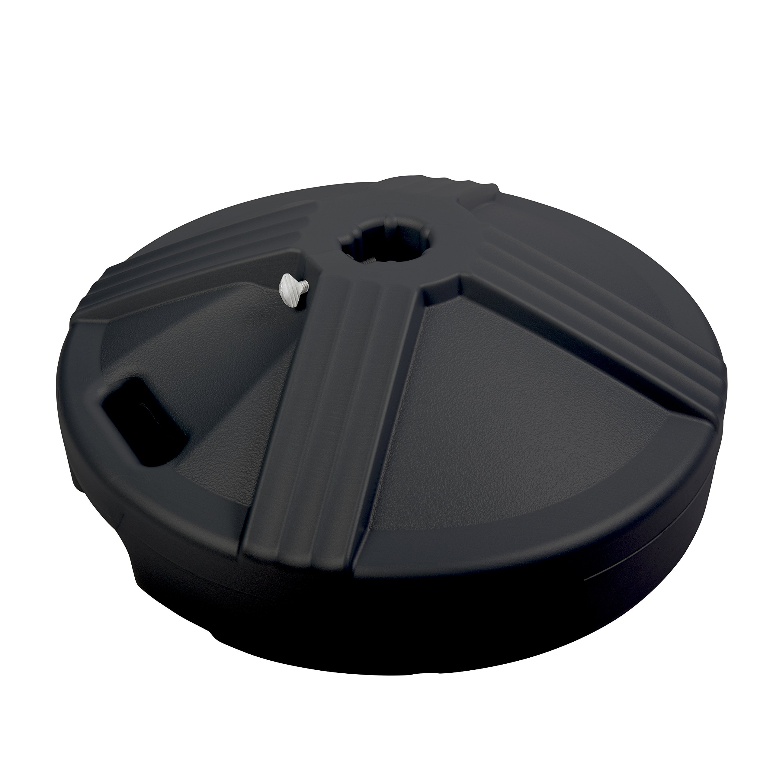 US Weight Durable 50 Pound Umbrella Base Designed to be Used with a Patio Table (Black) by US Weight