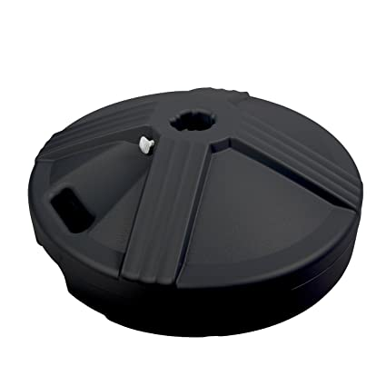 US Weight Durable 50 Pound Umbrella Base Designed To Be Used With A Patio  Table (