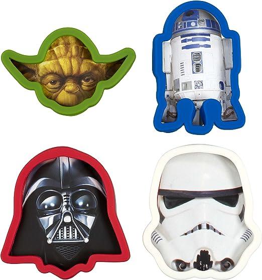 Amazon.com: Star Wars Cortador de Galletas, Darth Vader ...