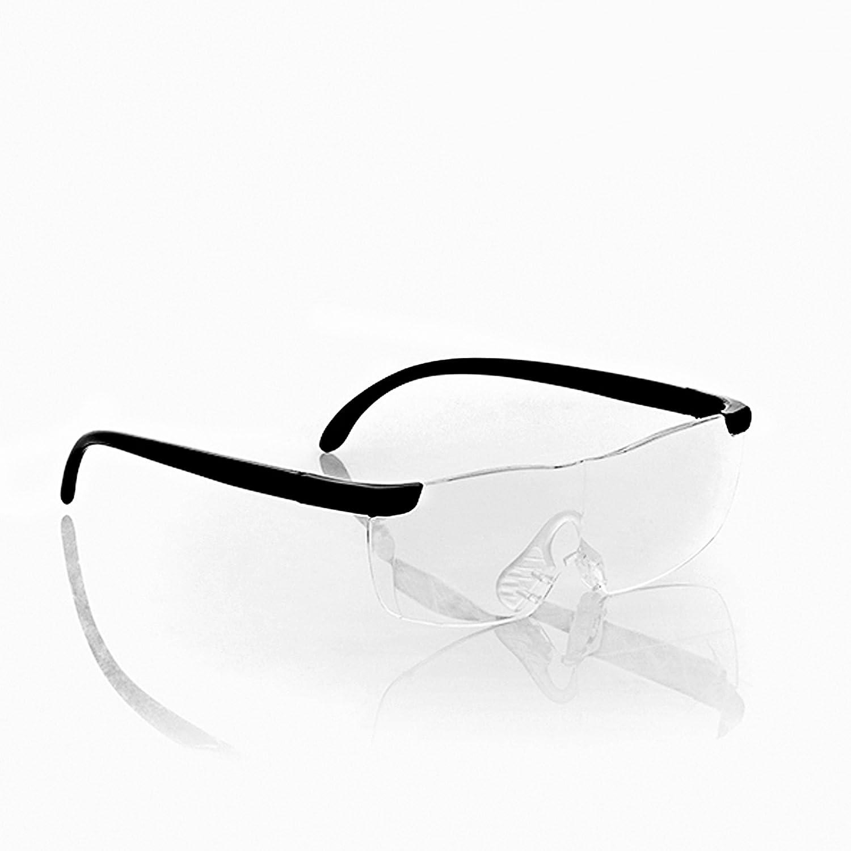 Oramics lente di ingrandimento Occhiali Occhiali Occhiali con lente d' ingrandimento–Ideale per la lettura e per lavori di precisione–60%, ingrandimento ergonomico design in policarbonato con custodia in tessuto