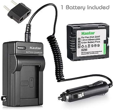 Amazon Com Kastar New Battery Charger For Hitachi Dvd Camcorder Dz Bx35a Video Camera Cga Du07 New Camera Photo